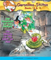 The Phantom of the Subway & The Temple of the Ruby of Fire - Geronimo Stilton