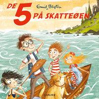 De 5 på Skatteøen - Enid Blyton