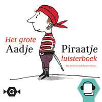 Het grote Aadje Piraatje luisterboek - Marjet Huiberts