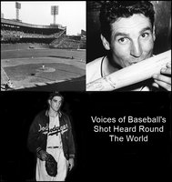 Voices of Baseball's Shot Heard Round The World - Various Authors