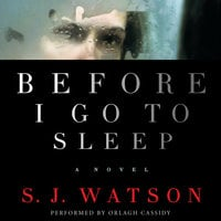 Before I Go To Sleep - S.J. Watson