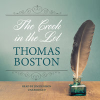 The Crook in the Lot - Thomas Boston