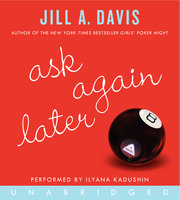 Ask Again Later - Jill A. Davis