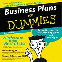 Business Plans for Dummies 2nd Ed. - Paul Tiffany, Steven Peterson