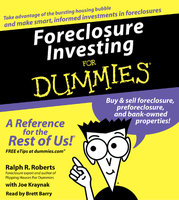 Foreclosure Investing For Dummies - Ralph R. Roberts, Joe Kraynak