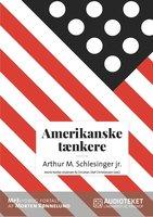 Amerikanske tænkere - Arthur M. Schlesinger jr. - Christian Olaf Christiansen,Astrid Nonbo Andersen