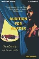 Audition for Murder - Sarajane Auidon,Susan Sussman