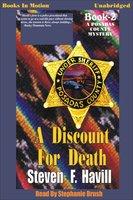 A Discount for Death - Steven F. Havill