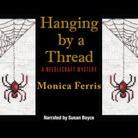 Hanging by a Thread - Monica Ferris