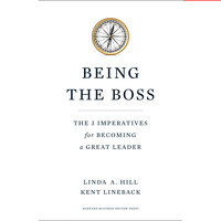 Being the Boss - Linda A. Hill,Kent L. Lineback