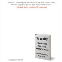 Scarcity: Why Having Too Little Means So Much - Eldar Shafir,Sendhil Mullainathan