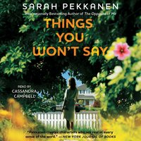 Things You Won't Say - Sarah Pekkanen
