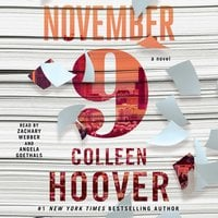 November 9 - Colleen Hoover