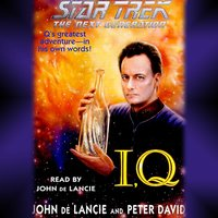 Star Trek: The Next Generation: IQ - John De Lancie,David, Peter