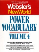 Webster's New World Power Vocabulary, Volume 4 - Elizabeth Morse-cluley, Richard Reed