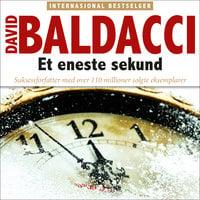 Et eneste sekund - David Baldacci