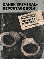 Rovmord i Hornbæk - Dansk Kriminalreportage - Diverse forfattere, Birgitte Lyngsøe