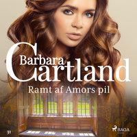 Ramt af Amors pil - Barbara Cartland