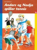 Anders og Nadja spiller tennis - Terje Barnholdt