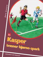 Kasper træner hjørne-spark - Jørn Jensen