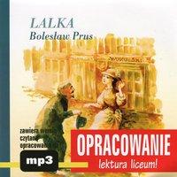 """Bolesław Prus """"Lalka"""" - opracowanie - Andrzej I. Kordela"""