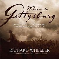 Witness to Gettysburg - Richard Wheeler