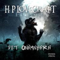 Det onämnbara - H.P. Lovecraft