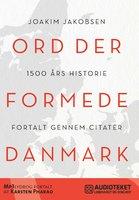 Ord der formede Danmark - Joakim Jakobsen