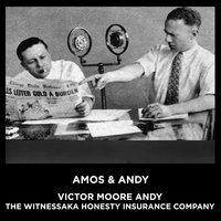 Victor Moore Andy The Witnessaka Honesty Insurance Company - Amos Oz