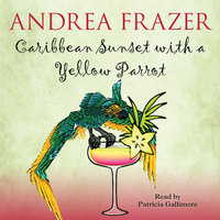 Caribbean Sunset with a Yellow Parrot - Andrea Frazer