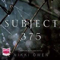Subject 375 - Nikki Owen