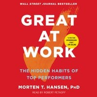 Great at Work: How Top Performers Do Less, Work Better, and Achieve More - Morten T. Hansen