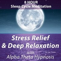8 Hour Sleep Cycle Meditation - Stress Relief & Deep Relaxation with Alpha Theta Hypnosis - Joel Thielke