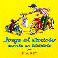 Jorge el curioso monta en bicicleta - H.A. Rey