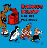 Rasmus Klump hjælper postbuddet - Carla Og Vilh. Hansen