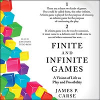 Finite and Infinite Games - James Carse