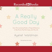 A Really Good Day: How Microdosing Made a Mega Difference in My Mood, My Marriage, and My Life - Ayelet Waldman