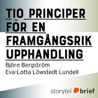 Tio principer för en framgångsrik upphandling - Björn Bergström, Eva-Lotta Löwstedt Lundell