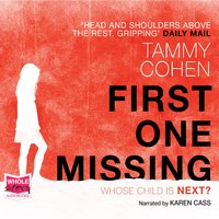 First One Missing - Tammy Cohen