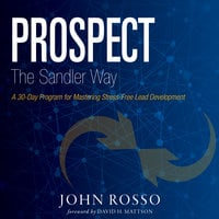 Prospect the Sandler Way: A 30-Day Program for Mastering Stress-Free Lead Development - John Rosso