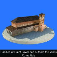 Basilica of Saint Lawrence outside the Walls Rome Italy - Paola Stirati