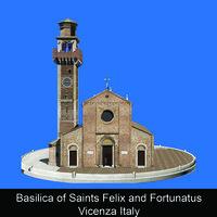 Basilica of Saints Felix and Fortunatus Vicenza Italy - Alessio Tremiti
