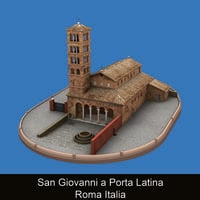 San Giovanni a Porta Latina Roma Italia - Paola Stirati