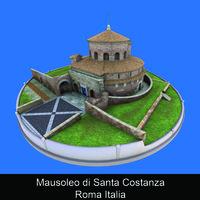 Mausoleo di Santa Costanza Roma Italia - Caterina Amato