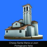 Chiesa Santa Maria a Lison Portogruaro Italia - Alessio Tremiti