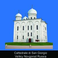 Cattedrale di Santa Sofia Velikiy Novgorod Russia - Tatiana Volodina