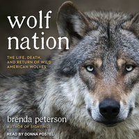 Wolf Nation: The Life, Death, and Return of Wild American Wolves - Brenda Peterson