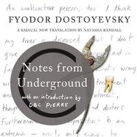 Canons - Notes From Underground - Fyodor Dostoyevsky