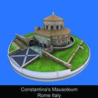Constantina's Mausoleum Rome Italy - Caterina Amato