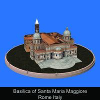 Basilica of Santa Maria Maggiore Rome Italy - Caterina Amato